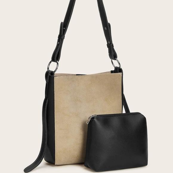 Handbags - Suede Tote Bag🌿LAST ONE